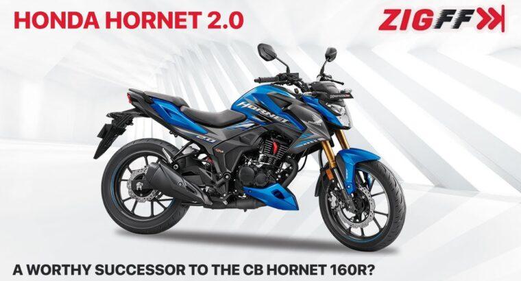 🏍️ Honda Hornet 2.Zero Launched | Engine specs, options, rivals & extra | ZigFF