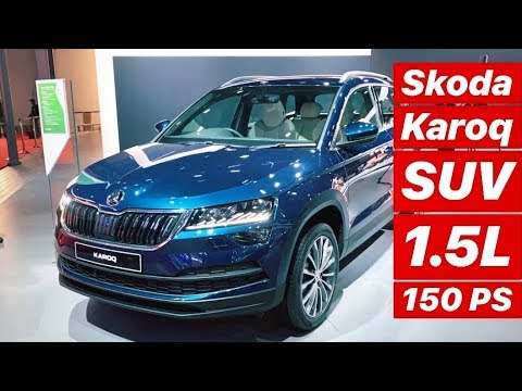 2020 Skoda Karoq INR 16 – 20 lakh SUV for India – First Look