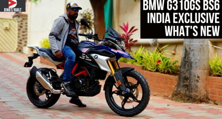 2021 BMW G310GS India Walkaround Evaluation Exhaust Sound What's New #Bikes@Dinos