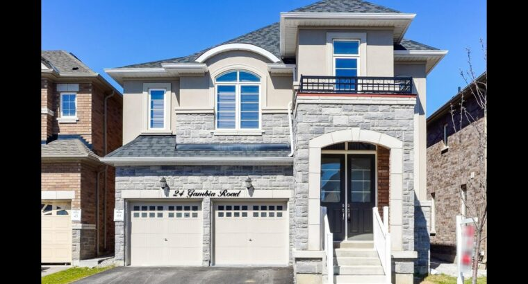 24 Gambia Highway Brampton House for Sale – Actual Property Properties for Sale
