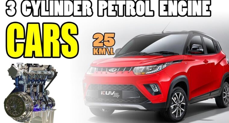 three Cylinder Petrol Engine Automobiles in India 2020 | Finest Mileage (In Hindi)