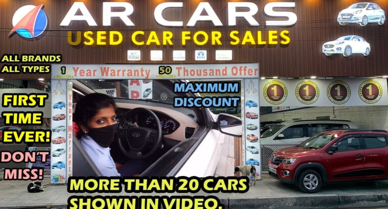 50,000 DISCOUNT + 1 YEAR WARRANTY FOR ALL CARS! BIGGEST USED CARS SALE IN TAMIL NADU AT LOWEST PRICE