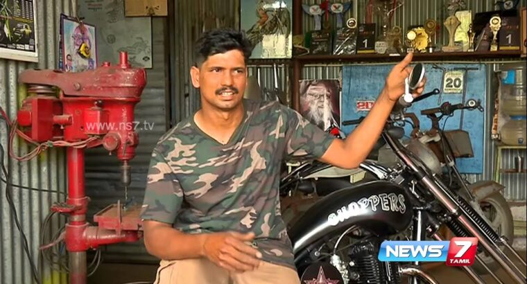 Superb types of bikes from this Kovai mechanic   News7 Tamil