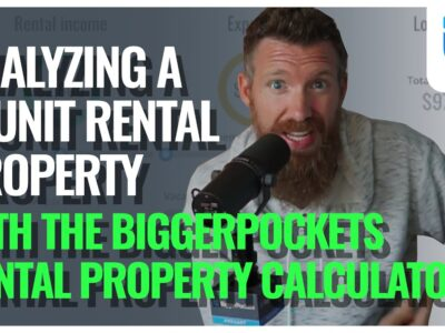 Analyzing a Four Unit Rental Property! (Utilizing the BiggerPockets Rental Property Calculator)