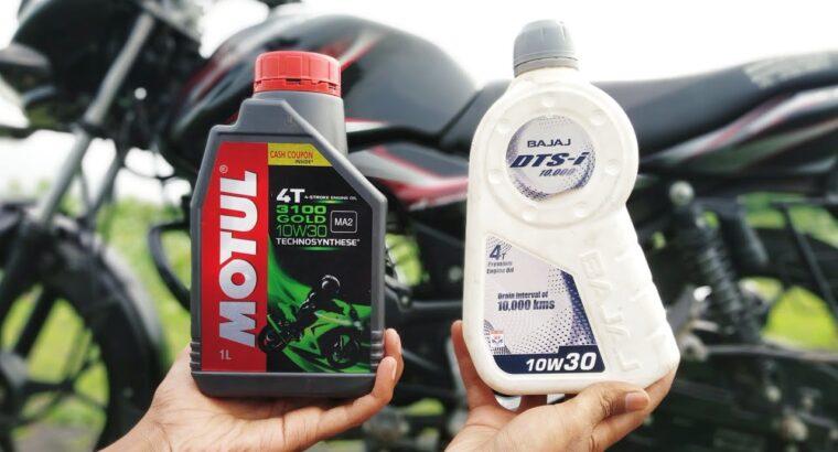 Greatest Engine Oil for all 100cc-125cc Bikes