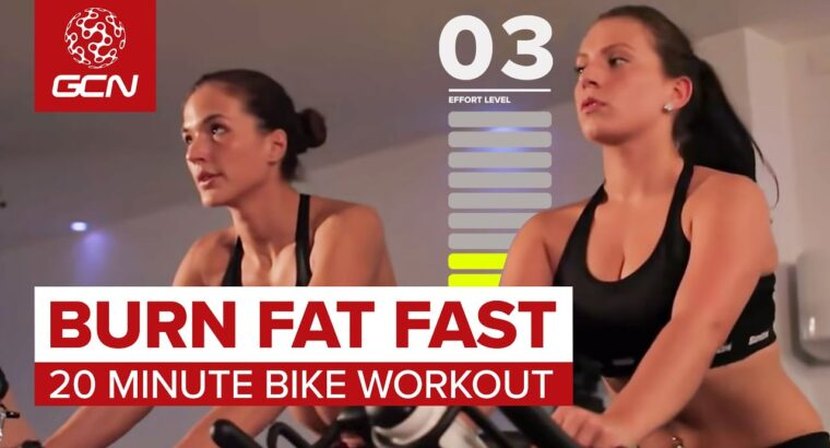 Burn Fats Quick: 20 Minute Bike Exercise
