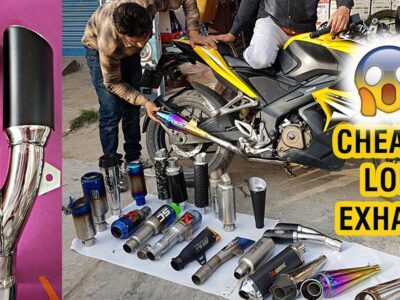 Low-cost & Greatest Exhaust / Silencer for All Bikes (100cc to 600cc)    With Sound Testing