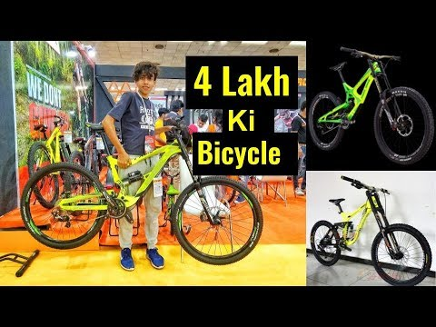 Downhill MTB Cycle Value four Lakh In India | Experience Asia Vlog | Cycle Rider Roy