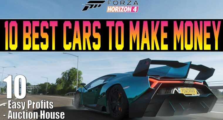 Forza Horizon 4 – 10 Finest Vehicles To Make Cash! – Purchase & Promote On Public sale Home