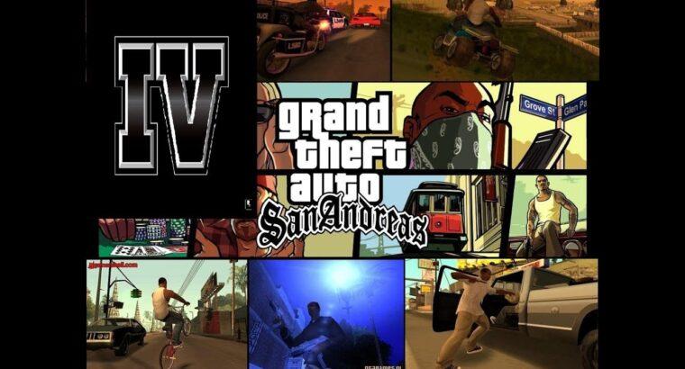 "GTA IV: San Andreas MoD BETA three newest ""World Enchancement"" – Automobiles/Gangwars/Police Chase [HD]"