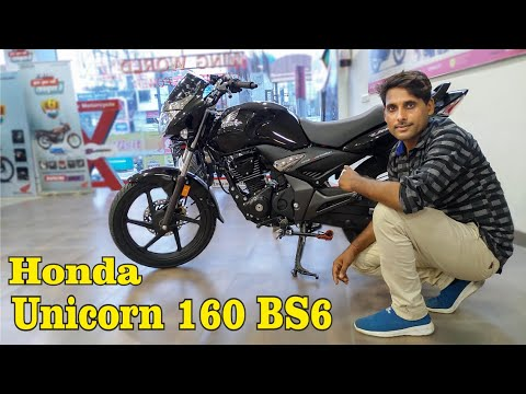 Honda Unicorn 160 BS6 Mileage Worth Options  Full Evaluate New Household Bike In 160cc