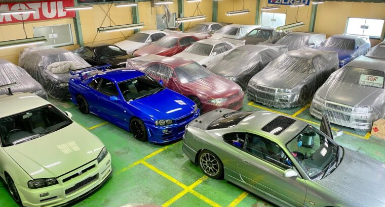 JDM automobiles on the market in Japan! Store replace at Storage Defend!
