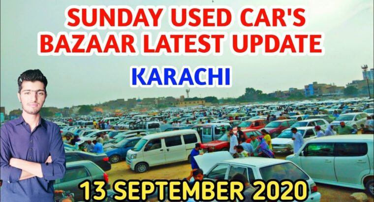 Karachi Used Automotive Bazaar||Sunday Automobiles Market 13 September 2020 Newest New Costs Replace||Revenue World