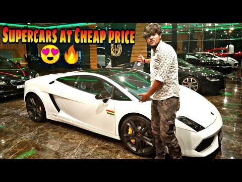 Luxurious Supercars At Low cost worth 🔥❤️   Lamborghini ,Porsche, Audi, Mercedes, Bmw