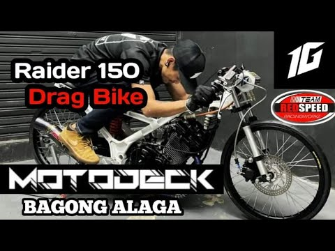 MOTODECK NEW DRAG BIKE | RAIDER 150 DRAG BIKE 2021