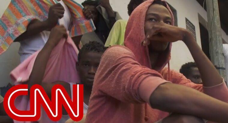 Migrants being bought as slaves in Libya