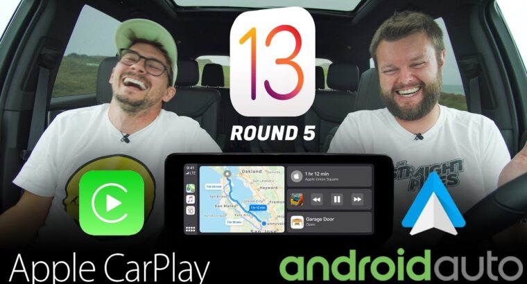 NEWEST 2019 Apple CarPlay iOS 13 vs Android Auto – REAL WORLD TEST