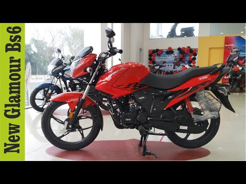 New Hero Glamour 125 Bs6 Worth Mileage All Options Full Walkaround Evaluation In Hindi