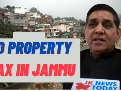 No Property Tax in Jammu : JMC Mayor | JK Information As we speak