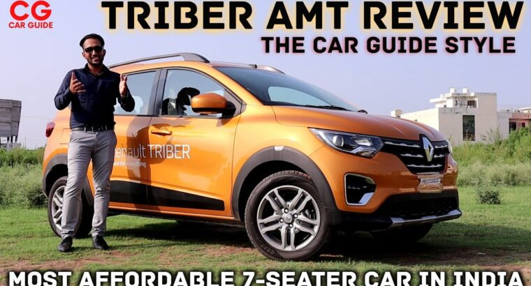 Renault Triber AMT Evaluate Automated 🔥 Most cost-effective 7 Seater Automotive India 🔥 Drive Evaluate The Automotive Information Type