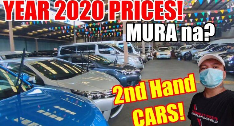 SECOND HAND CARS PRICES NGAYONG 2020   MURA NA BA?