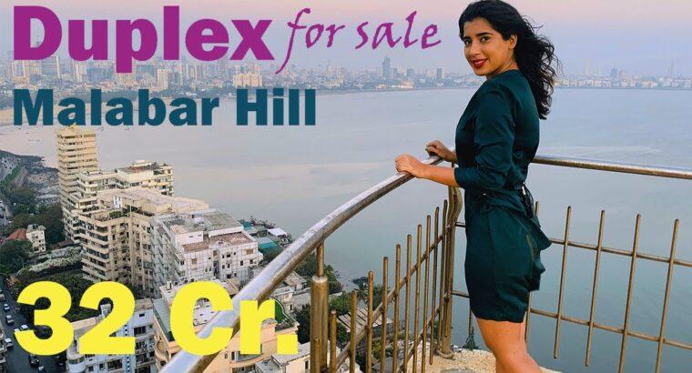 Sea Going through Duplex Penthouse Malabar Hill For Sale