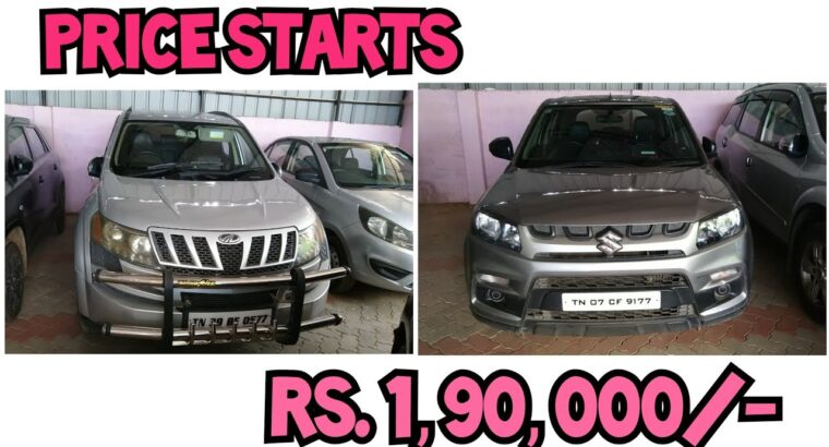 Second Hand Used Vehicles Gross sales  In Madurai | Used vehicles In Tamilnadu