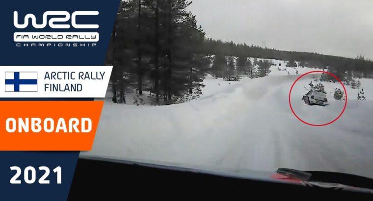Shakedown ONBOARD Tänak – WRC Arctic Rally Finland 2021