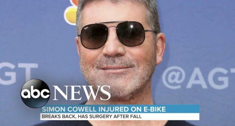 Simon Cowell injured in e-bike accident