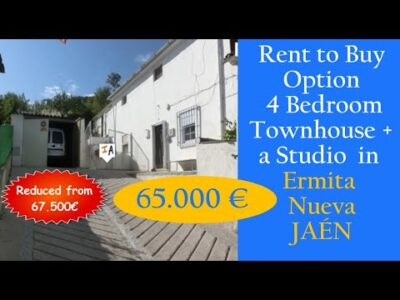 TH2892 Discount Lease to Purchase Choice four Mattress + Studio Property on the market in Spain, Jaen, inland Andalucia.