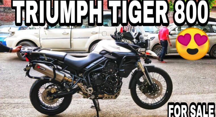 TRIUMPH TIGER 800 FOR SALE | SUPERBIKES |BIKE MARKET DELHI| KAROL BAGH BIKE MARKET |CHEAP SUPERBIKES