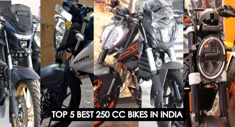 High 5 Finest 250CC BS6 Bikes In India 2020 | Beneath 1.9 Lakhs To 2.four Lakhs | Finest 250CC | My opinion