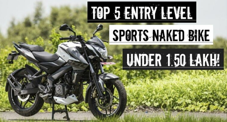 Prime 5 Entry Degree Sports activities Bike Below 1.50 Lakh On Street value |Sports activities Bare Bike|