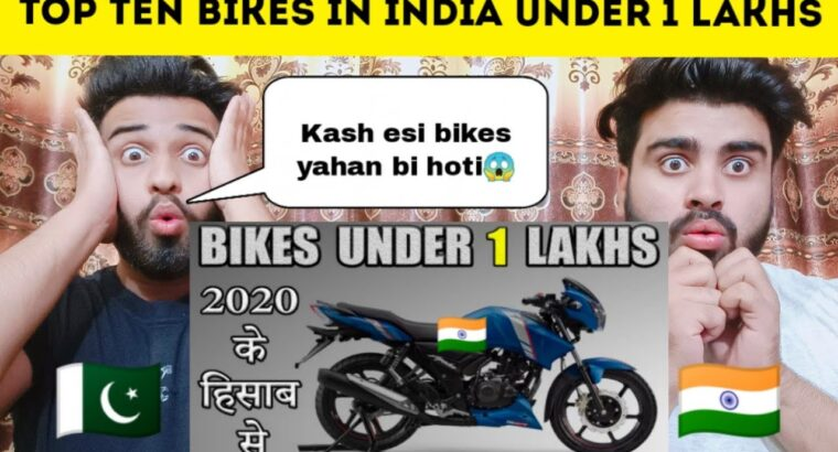 Prime Ten Bikes In India Below 1 Lakh s 2020 Response By |Pakistani Bros Reactions|