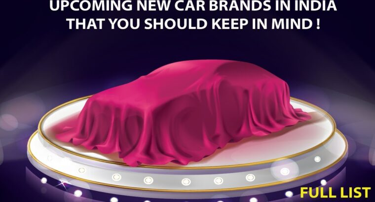 Upcoming New Automotive BRANDS In India | Full Checklist | Upcoming New Automotive Corporations | auto business in India