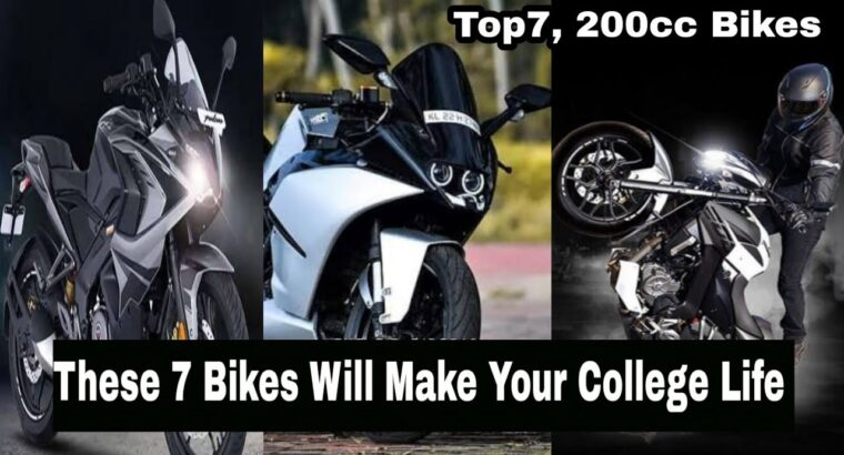 World's Finest 7 200cc bikes underneath rs. 2 lakh | high 7 quickest 200cc bikes | bikes underneath 2 lakh rs
