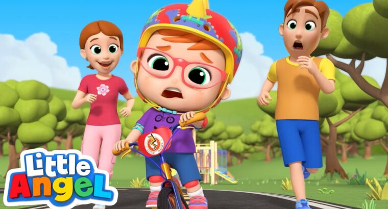 You Can Journey a Bike | Little Angel Youngsters Songs & Nursery Rhymes