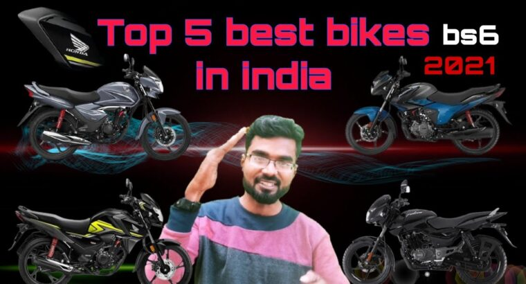 prime 5 finest bikes in india 2021 bs6