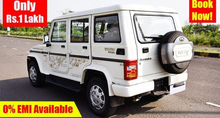 मात्र Rs.1 Lakh में Used Mahindra Bolero High Mannequin Automobile, Purchase Second hand Bolero Automobile in Delhi