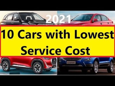 10 CARS WITH LOWEST SERVICE COST IN INDIA