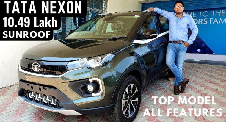 2020 Tata Nexon XZ+ Optionally available Premium SUV – Sunroof, New Interiors, Options, Value   Tata  Nexon BS6