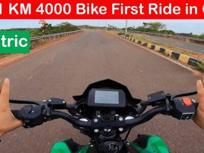 2021 KM4000 Electrical Bike Evaluate l Below 1.40Lakh ⚡️⚡️⚡️ Aayush ssm