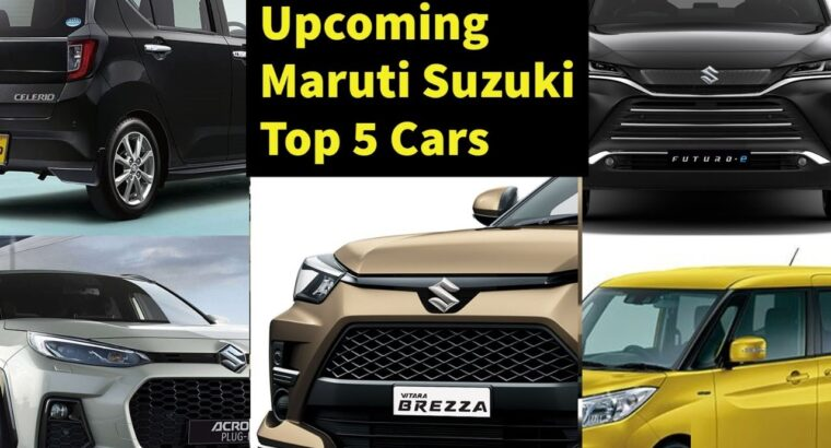 2021 Maruti Suzuki Upcoming 5 New Vehicles With Launch Detailed Specs