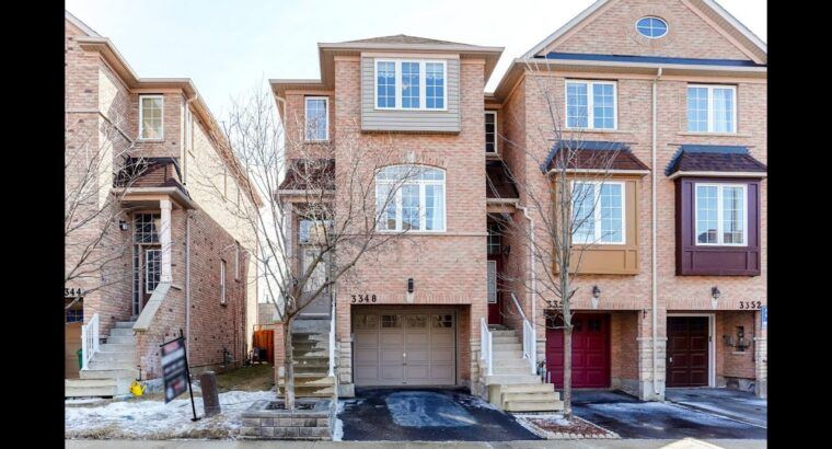 3348 Redpath Circle, Mississauga Dwelling for Sale – Actual Property Properties for Sale