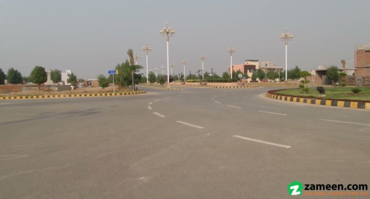 5 MARLA RESIDENTIAL PLOT FOR SALE IN PHASE 1 CITI HOUSING SOCIETY FAISALABAD
