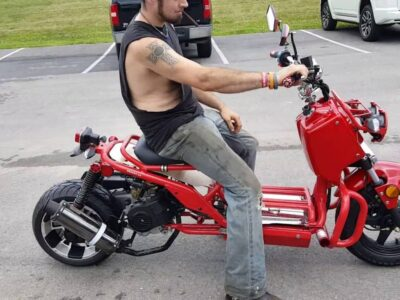 50cc Rake Rod Scooter Moped Avenue Bike For Sale