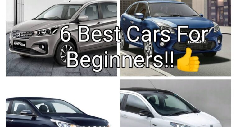 6 Finest Vehicles for Newcomers in India beneath 10 lakhs!!