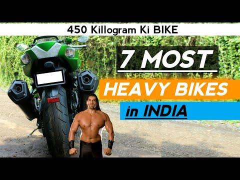 7 MOST HEAVY BIKES IN INDIA | HIGH KERB WEIGHT BIKES | RISHAV ARYA