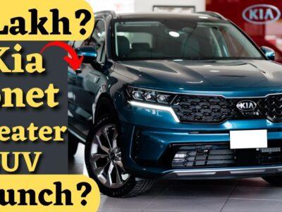 eight April | वाह अब सोनेट 7 सीटर में भी | New Kia Sonet 7 Seater SUV Launch Date Value in India