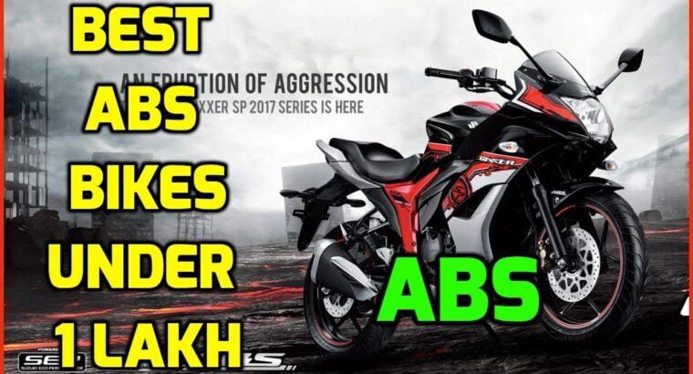Finest ABS Bikes Beneath 1 Lakh | Pulsar NS 200 | Gixxer SF |Apache | Anti Locking Braking System